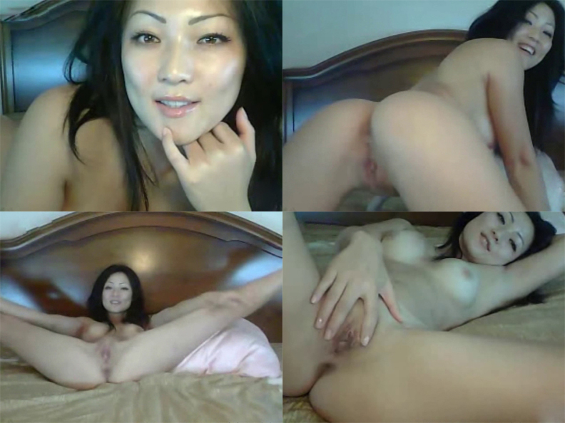 覗き見!ライブチャットオナニー!~中華圏編~ Sexyな美巨乳美女アイサちゃん Part.2