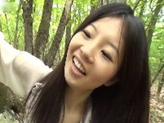 FBで知り合った女子〇生と温泉乱交ツアー!野外編vol.3