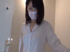 制服着衣♡お風呂で生中出し Vol.01