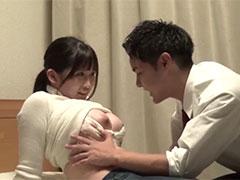 人妻が男子●校生と旦那が寝てるすぐ横で夜●い中出しセックス