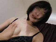 ご主人の目の前で他人棒をねじ込まれ他人の精子を狭い膣から垂れ流し犯される幼な妻